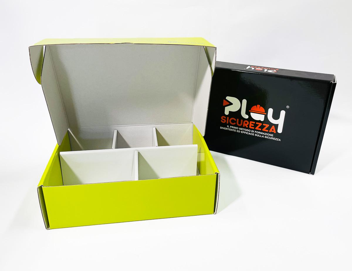 scatole automontanti accoppiate con microonda
